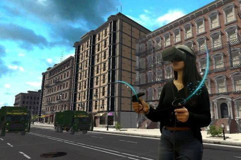 Waste Management VR Simulator