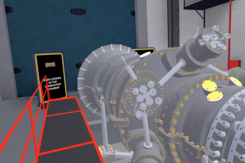 Gas Turbine VR