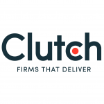 New Clutch Tagline logo